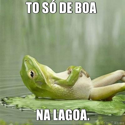 meme-9274-to-so-de-boa-na-lagoa-